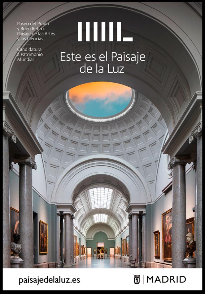 Fotografía Amador Toril Poster Paisaje de la Luz Paisaje de la Luz Candidatura-a-Patrimonio-Mundial-del-Paseo-del-Prado-y-Buen-Retiro.-Paisaje-de-las-Artes-y-las-Ciencias